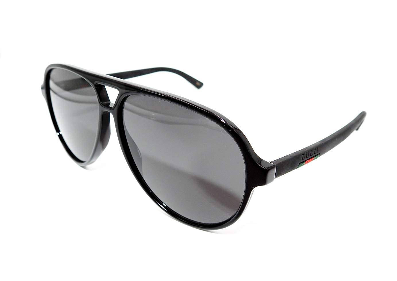 db9795c4ae2 Amazon.com  Authentic GUCCI Black Pilot Sunglasses GG0423S - 007NEW   Clothing