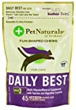 Pet Naturals of Vermont Daily Best for Cats Soft Chews Chicken Liver Flavored - 45 Ea, Pack of 6