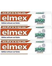 Elmex Pasta do zębów, Junior 6-12 lat, 3x75ml