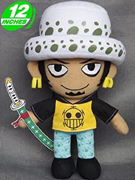 One Piece Peluche Law Trafalgar Anime Manga