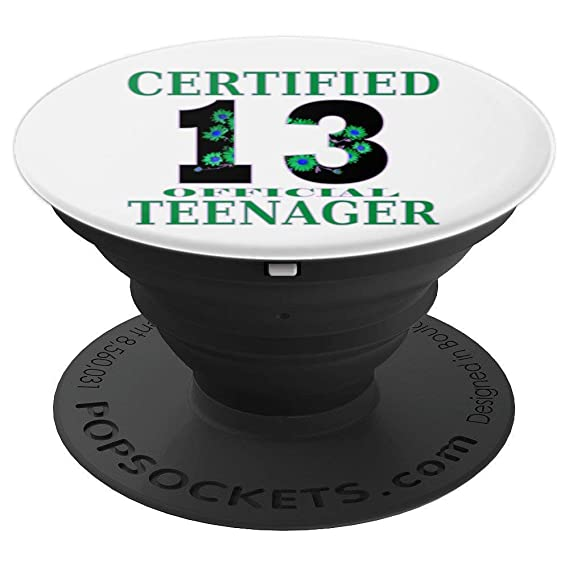 Amazon 13th Official Teen Birthday Gift Popsocket For Boys
