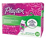 Playtex Personal Cleansing Cloths Singles, Light