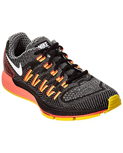 Nike Wmns Air Zoom Odyssey, Zapatillas de Running Unisex Adulto Negro (Black / White-Sail-Hyper Orange)