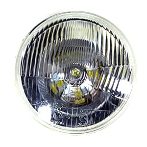 High Performance 7 Inch Headlight for Harley Uses H4 Bulb Non-Sealed 6012/6014/6015/H6017/H6024