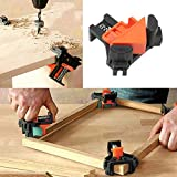Woodworking 90 Degree Angle Corner Clamps, 8pcs ABS