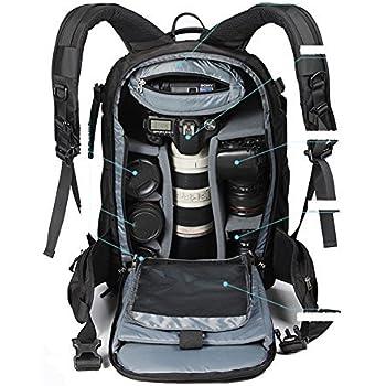 YAAGLE Waterproof Nylon Anti-shock Anti-theft DSLR Camera Bag Professional  Gear Photography Travel 2cf223632f795