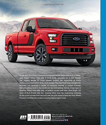 ford tough 100 years of ford trucks patrick foster amazoncom books
