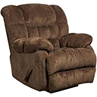 American Columbia Mushroom Rocker Recliner, Brown