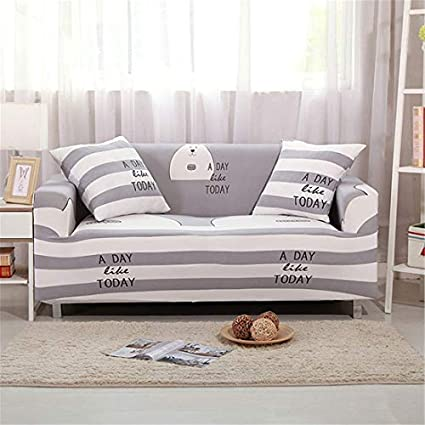 Amazon.com: JONARO Stretch Elastic Sofa Cover Cotton Sofa ...
