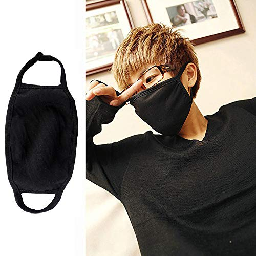 JPJ(TM)1pcs Men Women Hot Fashion Healthy 3 Layers Cycling Anti-Dust Cotton Mouth Face Mask Respirator by ❤JPJ(TM)❤️_Hot sale (Image #4)