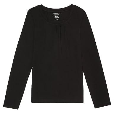 b090f343e4b Amazon.com  French Toast Girls  Long Sleeve Crew Neck T-Shirt  Clothing
