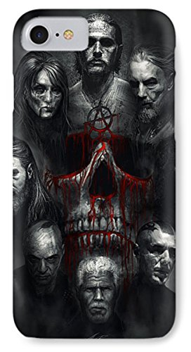 Pixels Iphone 7 Case Featuring  Sons Of Anarchy Tribute  By Alex Ruiz