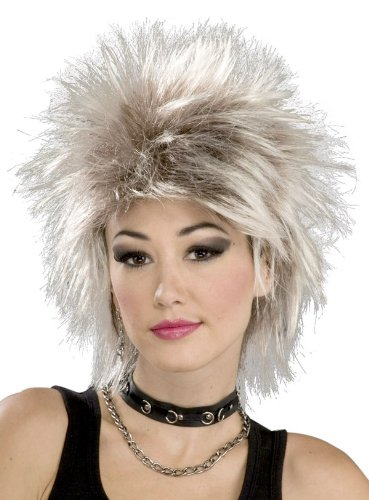 Forum Novelties 80s Rock Idol Mixed Blonde Wig ()