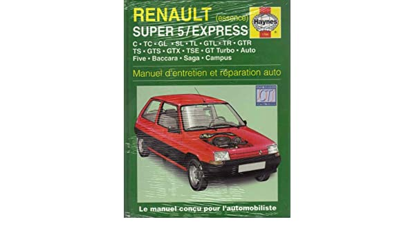 Renault Super 5 & Express Essence (84 - 98): 9781859607473: Amazon.com: Books