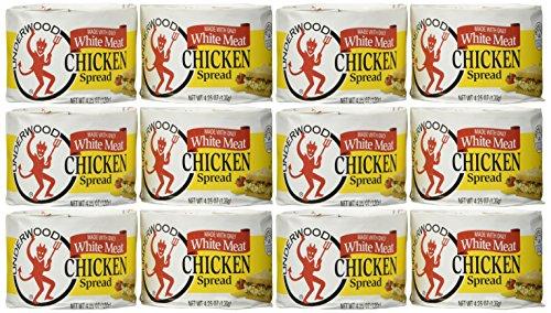 Underwood Chicken Spread - 4.25 oz (12 pack)