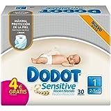 Dodot Sensitive - Pañales para bebé, talla 1 - 30 pañales