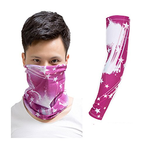 Actual Tattoo Arm and Scarf Sleeve Men and Women Protection Breathable Outdoor Basketball Sports Wrist Sunscreen Keep Warm Fishing Gloves - Famous Costume Designer For Movies