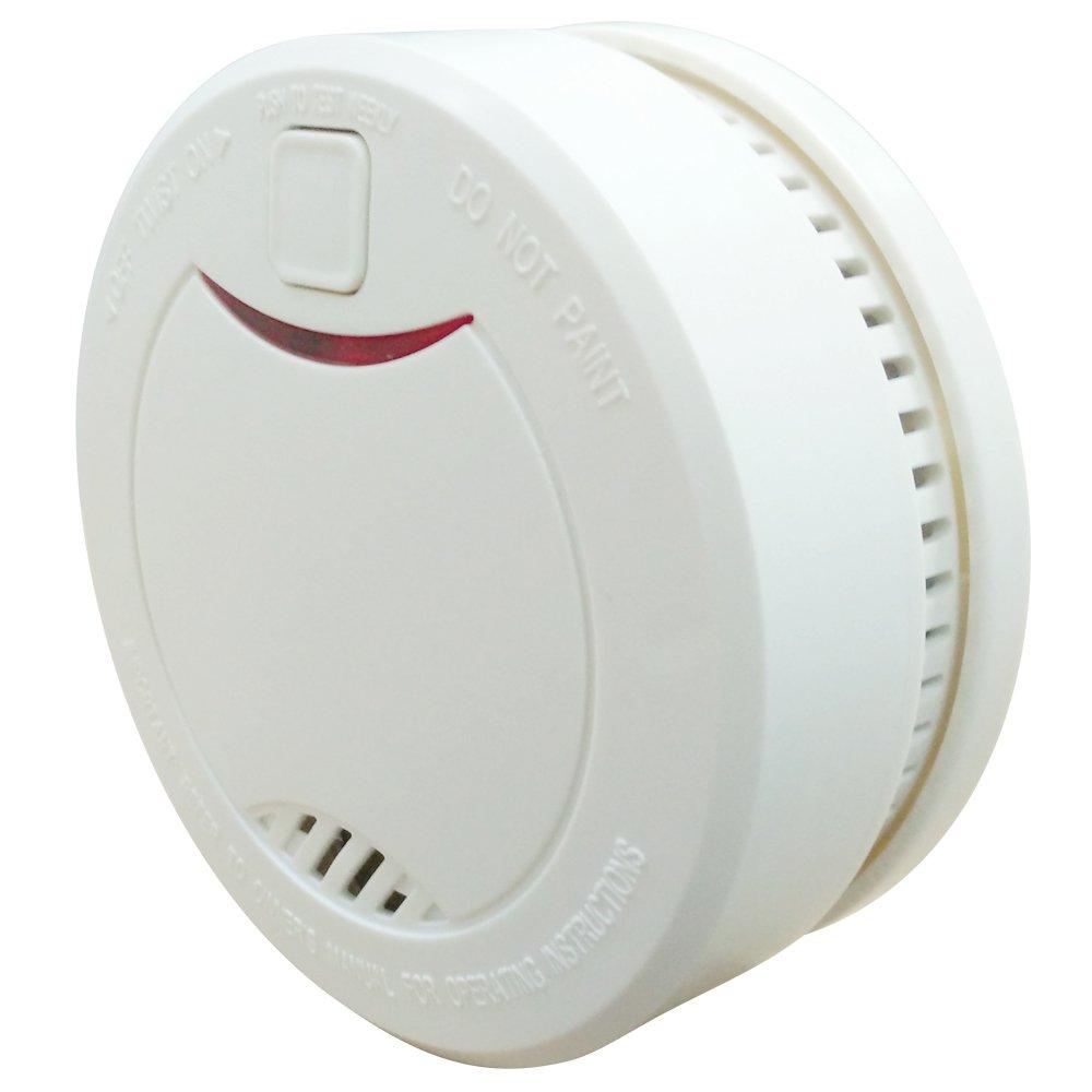 Heiman® HM-626PHS-Detector de humo de alarma contra incendios con batería integrada, ión de litio, duración 10 años.: Amazon.es: Bricolaje y herramientas