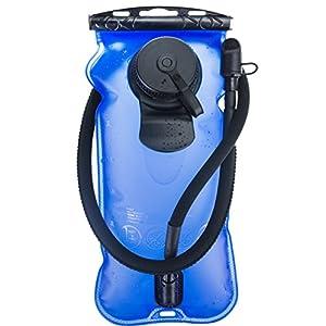 WACOOL 3L 3Liter 100oz BPA Free EVA Hydration Pack Bladder, Leakproof Water Reservoir (3 Liter Bladder Blue)