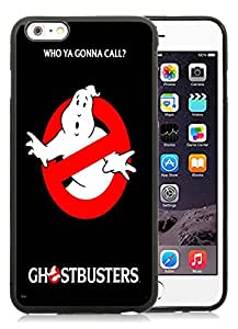 New DIY Personalized Ghostbusters iPhone 6 Plus 6th Generation 5.5 Inch Black Phone Case CR-246