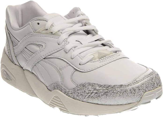 Puma Trinomic R698 3M Snow Pack white//puma silver Schuhe//Sneaker 358393 01