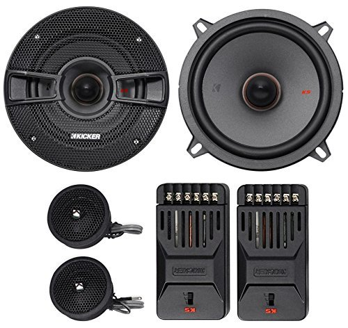 Kicker KSS504 KSS50 5.25 Component system with 1 tweeters 4-Ohm [並行輸入品] B079KKWSTP