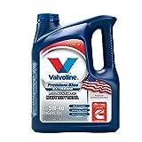 Valvoline 774038 Blue 1 Gallon Premium Heavy Duty Synthetic Motor Oil