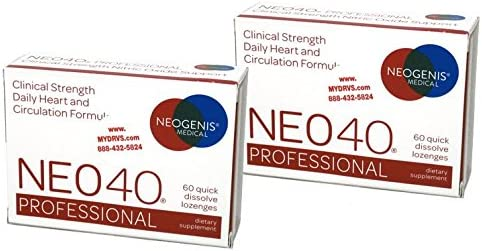 Neogenis Labs Neo40 Professional, Twin Pack, 120 Lozenges