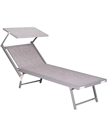 Lettini Da Spiaggia Pieghevoli Ikea.Amazon It Lettini Arredamento Da Giardino E Accessori