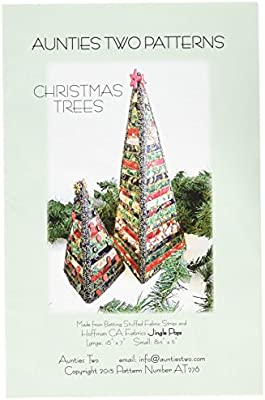 Auntie/'s Two Christmas Trees Dimensional Fabric Tree Pattern