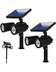 Lámparas Solares Luz de Jardín, varios modelos