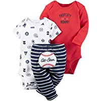 Carter's Baby Boys' Little Character Sets 126g594, Red All Star, 6 Months