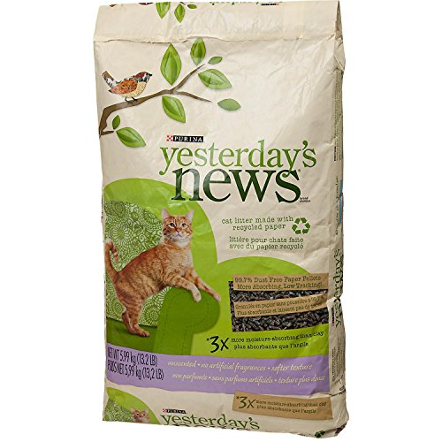 Purina Yesterday's News Unscented Cat Litter 51oUCYHAkNL