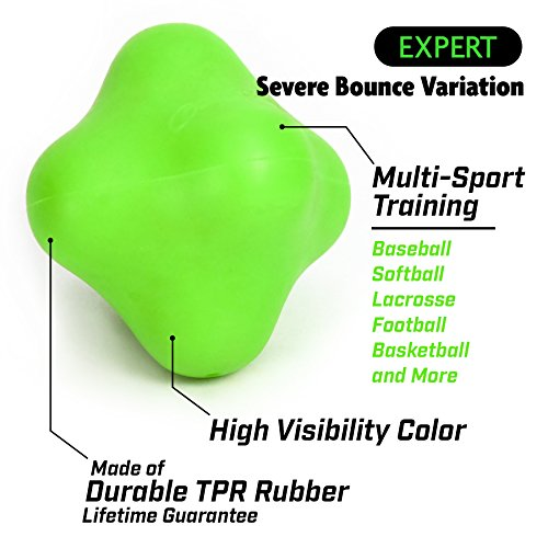 GoSports Reaction Balls Available in Beginner, Intermediate and Expert Designs Great Training Tool For Any Sport