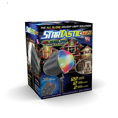 STARTASTIC MAX 1562 Remote-Controlled Outdoor/Indoor with 60+ Holiday Light Shows As Seen On TV new 2017]()