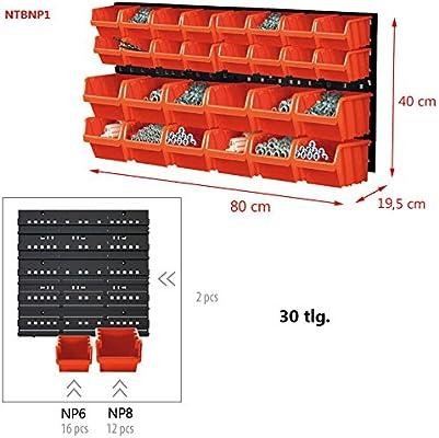 Herramientas pared estantería de pared Estantería (con cajas de ...