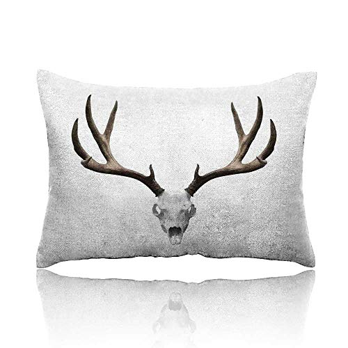 Antlers Decor Small Pillowcase 20