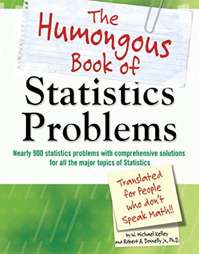 The Humongous Book of Statistics Problems