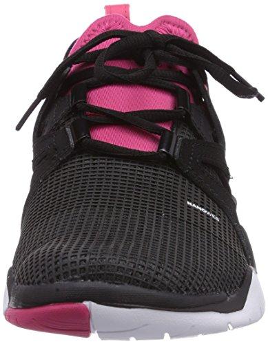 Nero Black Reebok White TR Scarpe Schwarz Fitness Pink Gravel Zcut Donna Blazing w0qrORqXx
