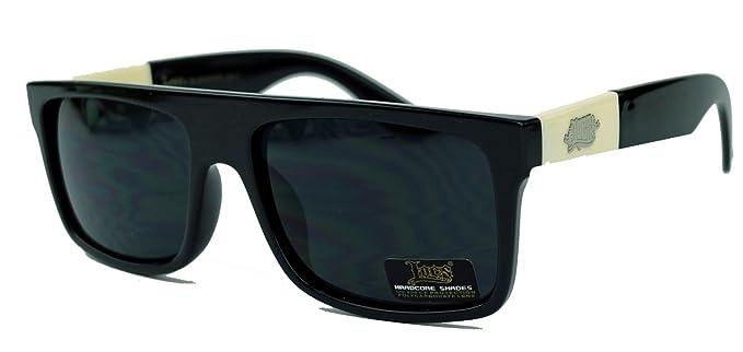 Leistungssportbekleidung wie man bestellt Premium-Auswahl LOCS® Herren Sonnenbrille West Coast Gangsta Style rechteckig Old School