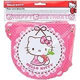 Procos 81799 baner - pendones (Hello Kitty, Multi, Birthday banner, Bolsa de plástico)