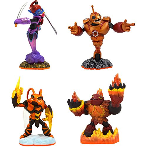 Skylanders Giants 4 Character Pack (Universal) - Hot Head, Swarm, Ninjini & Bouncer