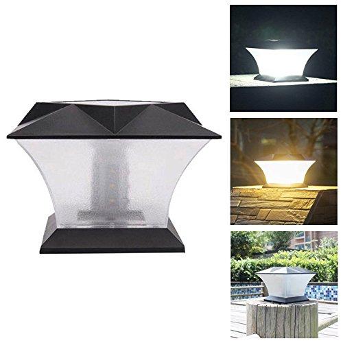 Bazaar Solar Power 18 LED Waterproof Pillar Light Garden Lawn Landscape Decoration Lamp by Big Bazaar