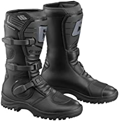 This sport minded boot will keep your feet dry when the riding gets wet.