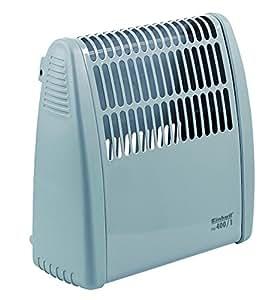 Einhell 400 W, Frostschutz - Fw 400/1 guardia heladas, 400 vatios, termostato de variación continua, unidad de pared, Monitor automático de temperatura