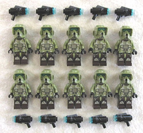 10 New Lego Star Wars 41st Elite Corps Trooper Minifig Lot Kashyyyk 75035