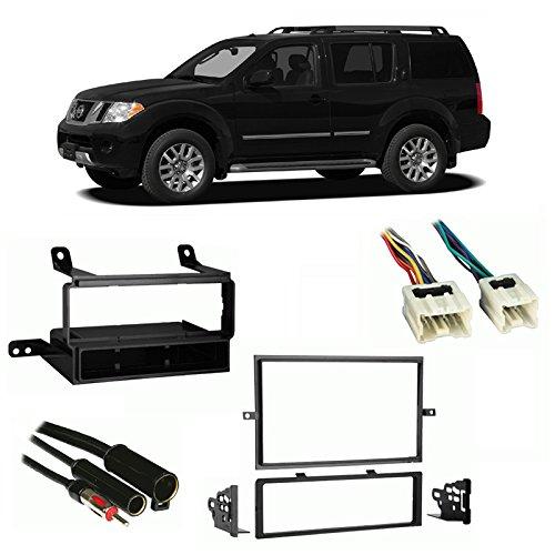 Dash Nissan 2008 Pathfinder - Fits Nissan Pathfinder S 2008-2012 Multi DIN Harness Radio Install Dash Kit
