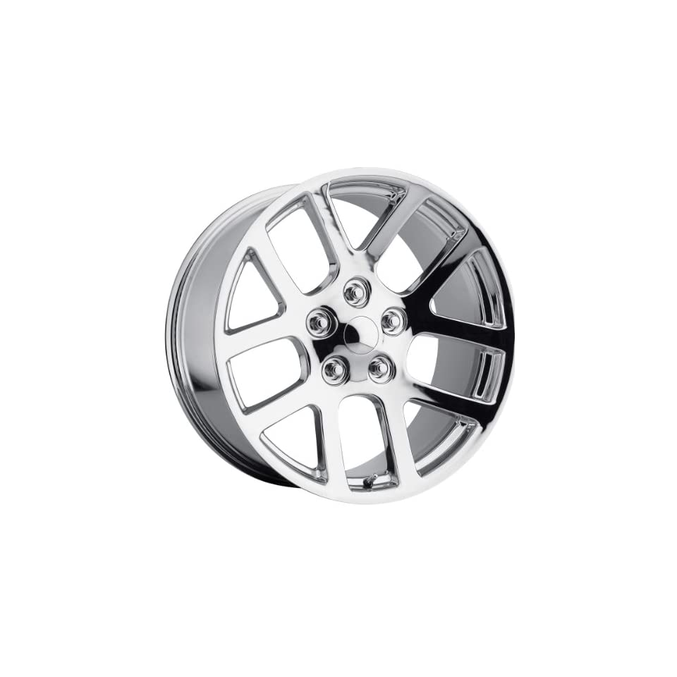 22x10 Replica Dodge Ram SRT 10 Chrome Wheel Rim 5x139.7 5x5.5 +25mm Offset 77.8mm Hub Bore Automotive