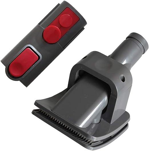 MEGICOT cepillo de aseo para mascotas + adaptador convertidor de repuesto para Dyson V8/V7/V10, kit de cepillo para mascotas: Amazon.es: Hogar