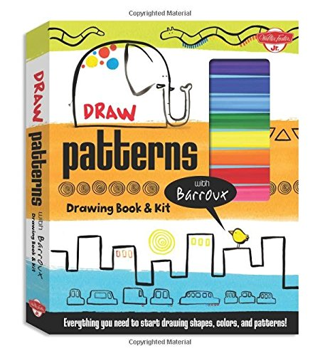 Draw Patterns with Barroux Drawing Book & Kit: Everything you need to start drawing shapes, colors, and patterns! ebook